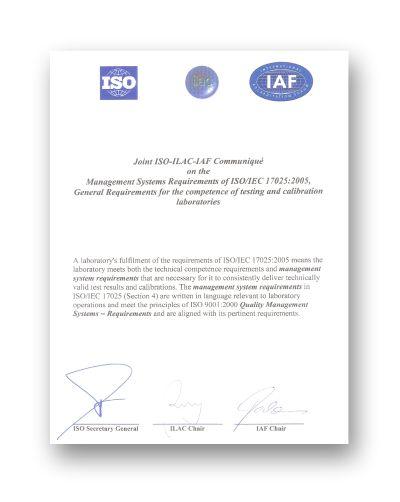 Reconnaissance ILAC